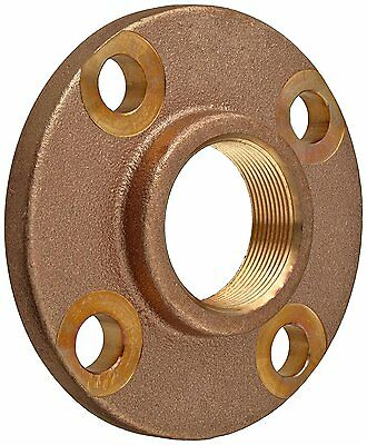 "Lead Free Brass Pipe Fitting, Threaded Companion Flange, Class 150, 1-1/2"" NPT"
