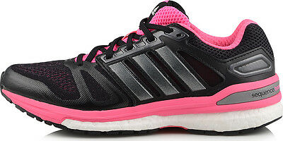 69516949c0b38 Womens Ladies Adidas Supernova Sequence Running Shoes Trainers Sneakers -  Black