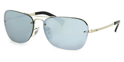Ray-Ban RB3541 003/30 Silver Frame Silver Mirror 61mm Lens Sunglasses