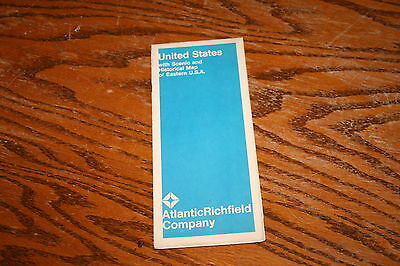 1969 Atlantic Richfield Eastern United States Car Auto Road Map