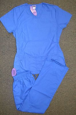 #1098 VanessaNew White,Black,Ceil,Teal,Navy,Royal Blue Nursing Scrub sets