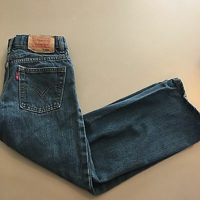 Boys Levi's Size 7 Jeans  Relaxed Straight
