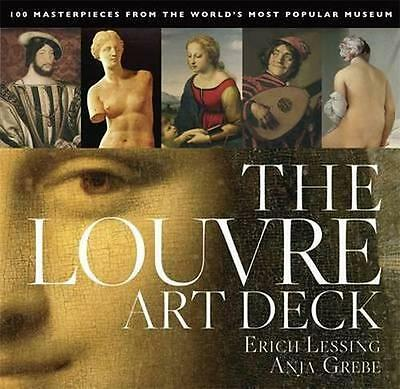 NEW The Louvre Art Deck By Anja Grebe Paperback Free Shipping