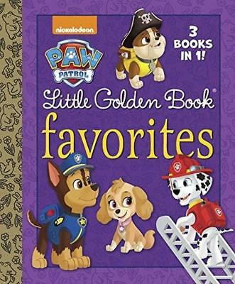 NEW Paw Patrol Little Golden Book Favorites By Golden Books Hardcover