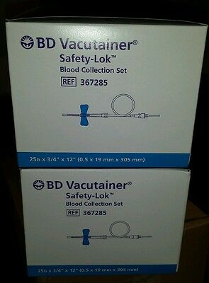 BD vacutainer 367285 butterfly 2 boxes