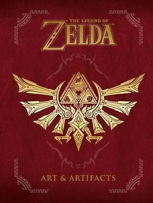 NEW The Legend of Zelda By  Nintendo Hardcover Free Shipping