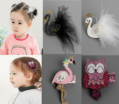 Cartoon Hairpins Barrettes Headwear Hair Clips Accessories For Kids Baby Girls