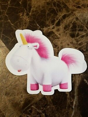 Despicable Me Fluffy The Unicorn 5 1/2 x 4 1/2 Inch Magnet Great Kids Movie