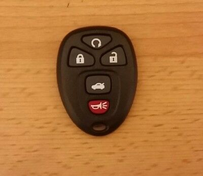GM Chevrolet Cadillac Buick Pontiac Saturn Remote control shell case 5 button