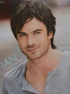 IAN SOMERHALDER - A2 Poster (XL - 42 x 55 cm) The Vampire Diaries Clippings NEU