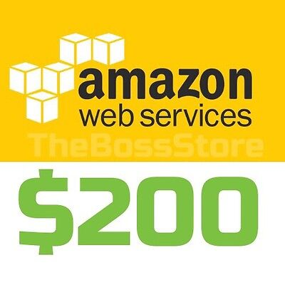 AWS Amazon Web Services $200 Voucher Credit Code EC2 SQS RDS