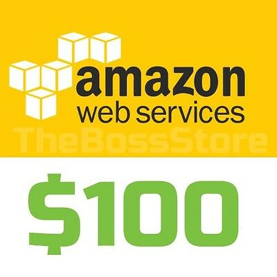 Amazon AWS Web Services $150 Voucher Credit Code EC2 SQS RDS