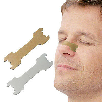 10Pcs New Useful Nasal Strips Anti Snoring Sleeping Are Better Than Breath Right