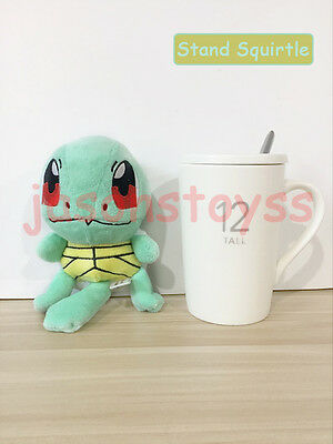 6'' New Pokemon Squirtle Stuffed Plush Toy figure Doll Kids Cuddly Lovely Gift