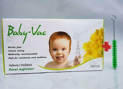 Baby Vac Nasal Vacuum Aspirator Suction Nose Cleaner Arianna Katarek for infants