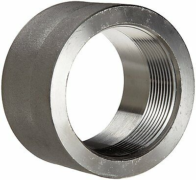 """304/304L Forged Stainless Steel Pipe Fitting, Half Coupling, Class 3000, 2"""" NPT"""