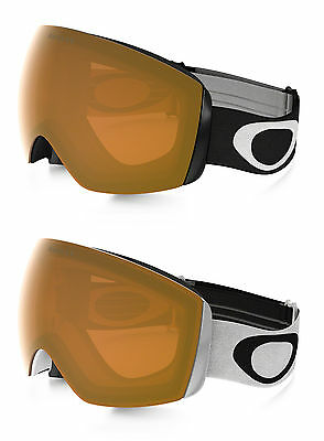Oakley Snowboard Goggles - Flight Deck XM - Black, White, Persimmon - 2017