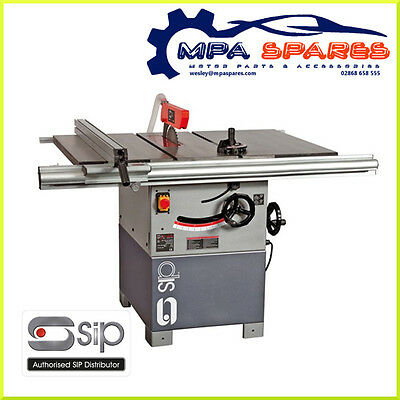 "SIP 01332 10"" PROFESSIONAL CAST IRON TABLE SAW (3hp) 230v 16amp"