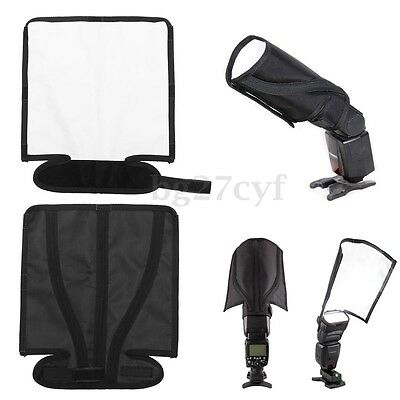 Flash Diffuser Speedlight Studio Bender Softbox Reflector Snoot for Canon Sony