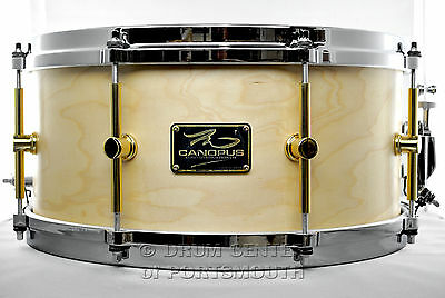 Canopus 'The Maple' Snare Drum 14x6.5 w/ Cast Hoops Oil - M-1465-O