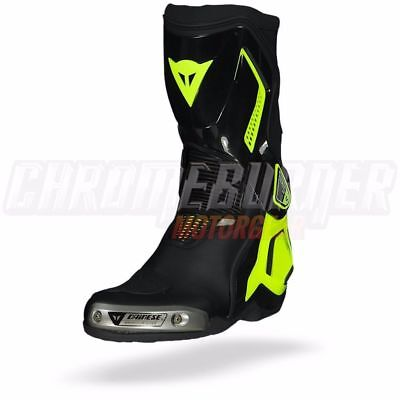 Dainese Torque D1 out boots Black Yellow Fluo, NEW!
