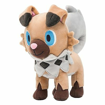 30cm Pokemon Sun Moon Plush Rockruff (Iwanko) Soft Stuffed Animal Doll Kids Gift