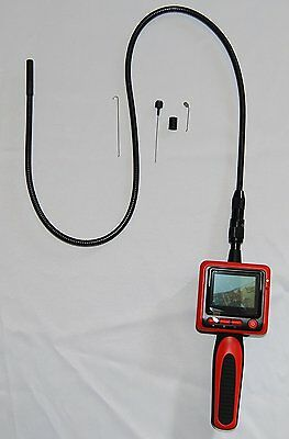 "Vividia 9mm Portable Digital Flexible Inspection Camera with 2.4"" LCD Monitor"