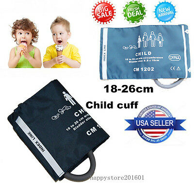 CONTEC Upper Arm Child/ Pediatric BP Cuff Single-Tube Non-disposable, US seller