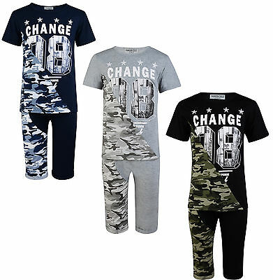 Boys Shorts T Shirt Set 2 Piece Outfit Change 3-12 Years Bnwt
