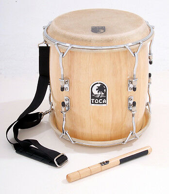 Toca Pro Wood Tambora with Strap and Beater - TTAM-N