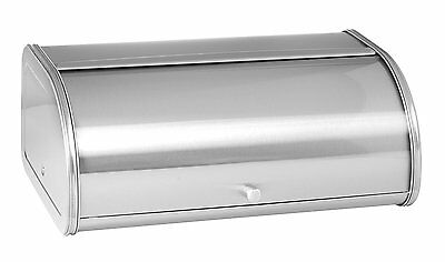 Anchor Hocking Fingerprint Free Brushed Steel Bread Box