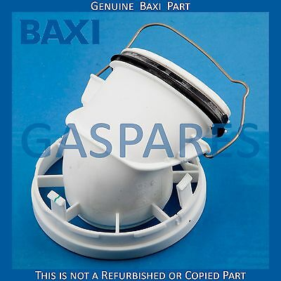 Baxi Gas Spare Adapter For Flue Gas Pipe Part No 7216625 - New Genuine