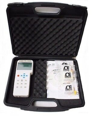 Omega HH1384 Four Channel Data Logger Thermometer w/ Case New [Ref A]