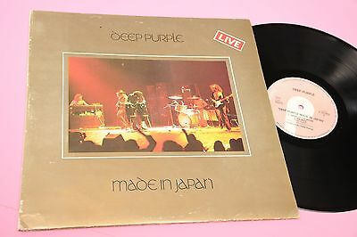 Deep Purple 2Lp Made In Japan Italy 1984 Gatefold Cover