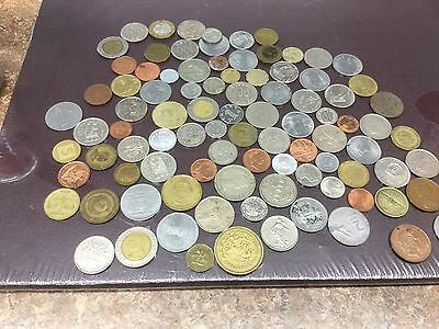 Mixed 1LB Bag of foreign Coins