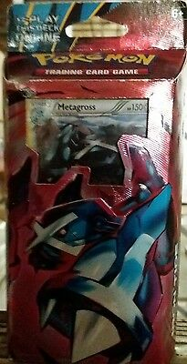 Pokemon TCG XY Ancient Origins Iron Tide Theme Deck Metagross Sealed