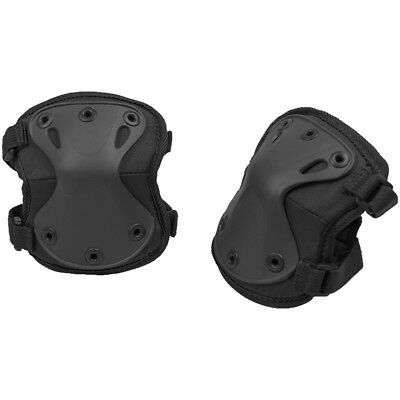 Mil-Tec Protect Elbow Pads Police Tactical Army Airsoft Guard Safety Cover Black