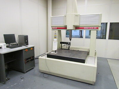 """Sheffield RS-50 DCC CMM System Complete ! 42""""x50-1/2"""" Table  See Description!"""