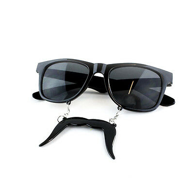 Sunglasses Moustache Novelty Fancy Dress Party Funny Costume Accessory Prop