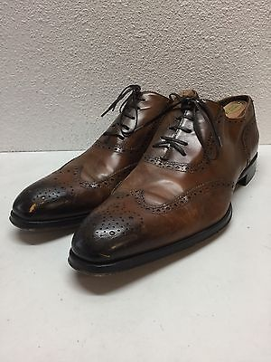 #1 To Boot New York Duke Cuoio Leather Wingtip Oxfords Shoes Mens Size 11.5