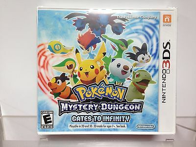 ** Pokemon Mystery Dungeon: Gates to Infinity - Nintendo 3DS - New!! - Sealed
