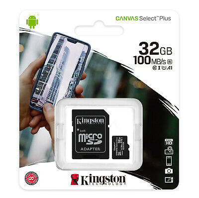 32GB Kingston Micro SD SDHC Memory Card For Go Pro Hero Session Action Camera