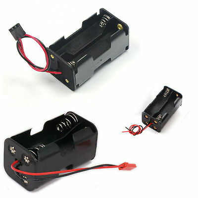 Radio Control RC BEC Battery Box Receiver Compartment Pack Case 4 x AA