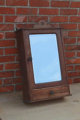antique french medicine kitchen cabinet, mirror wall cabinet