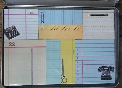 Victorian Trading Co Vintage Style Office Assortment Planner Memo Sticky Notes