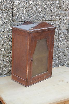 antique french medicine kitchen cabinet, ART DECO wall cabinet RACK
