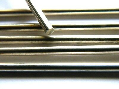 Sterling Silver Wire 4.0mm x 100mm Soft Fully Annealed for Jewellery Making .925