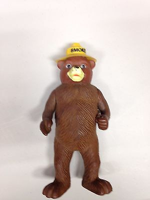 Vintage SMOKEY THE BEAR Plastic Figure R Dakin & Co 1970's
