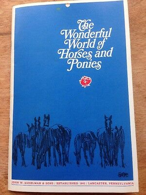 Booklet - The Wonderful World Of Horses And Ponies 1969