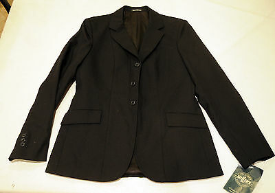 Tri-umph MILLERS NEW formal black hunt coat jacket foxhunting LADIES USA 12 LONG